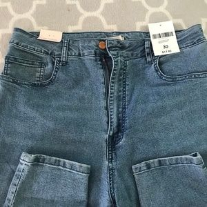 The Fairfax high rise skinny jeans jeggings